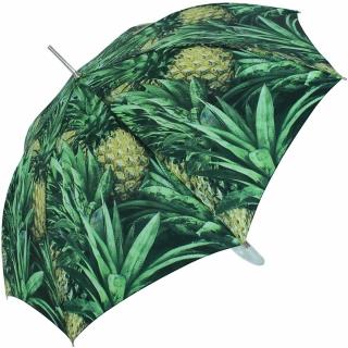 M&P Damen Regenschirm Long stabil Automatik Fotografico - Ananas