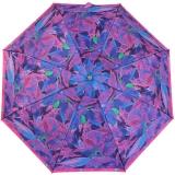 Edler Damen Vollautomatik-Taschenschirm Satin von PERTEGAZ mit Chromgriff - Strelitzie pink