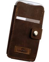 LandLeder Old-School Rindsleder Smartphone i-Phone...