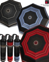 Knirps Regenschirm Fiber T2 Duomatic - Rain Dots