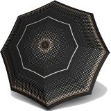Knirps Regenschirm Fiber T2 Duomatic - Rain Dots Black