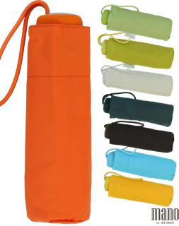 Mano Regenschirm Mini Taschenschirm Damen leicht