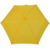 Mano Regenschirm Mini Taschenschirm Damen leicht gelb