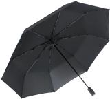 iX-brella full class 122cm XXL Damen-Herren Taschenschirm mit Auf-Zu-Automatik schwarz