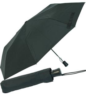 RS-Mini Taschenschirm für Damen und Herren Auf-Automatik schwarz