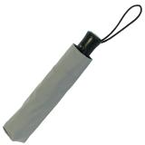 RS-Mini Taschenschirm für Damen und Herren Auf-Automatik grau