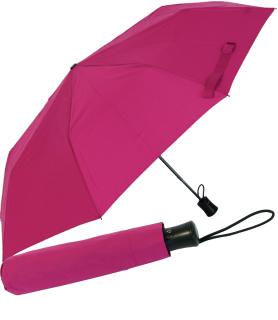 RS-Mini Taschenschirm für Damen und Herren Auf-Automatik pink