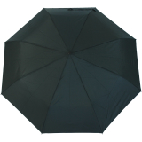 RS-Mini Taschenschirm für Damen und Herren manual Handöffner schwarz