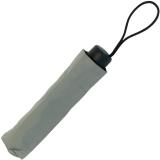 RS-Mini Taschenschirm für Damen und Herren manual Handöffner grau