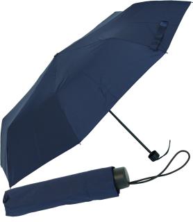 RS-Mini Taschenschirm für Damen und Herren manual Handöffner navy-blau