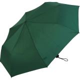 RS-Mini Taschenschirm für Damen und Herren manual Handöffner grün