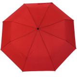 RS-Mini Taschenschirm für Damen und Herren manual Handöffner rot