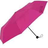RS-Mini Taschenschirm für Damen und Herren manual Handöffner pink