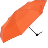 RS-Mini Taschenschirm für Damen und Herren manual Handöffner orange