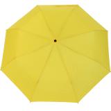 RS-Mini Taschenschirm für Damen und Herren manual Handöffner gelb