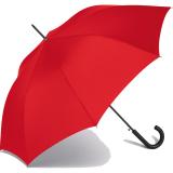 RS-Stockschirm groß stabil für Damen und Herren mit Automatik rot
