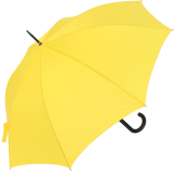 RS-Stockschirm groß stabil für Damen und Herren mit Automatik gelb