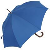 RS-Regenschirm Holzstock groß stabil für Damen und Herren mit Automatik royal-blau