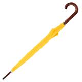 RS-Regenschirm Holzstock groß stabil für Damen und Herren mit Automatik gelb