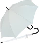 RS-Stockschirm XL - groß stabil für Damen und Herren mit Automatik weiß