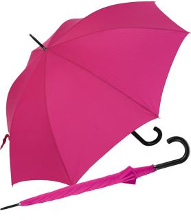 RS-Stockschirm XL - groß stabil für Damen und Herren mit Automatik pink