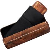 Pierre Cardin Minischirm Noire mybrella wood