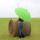 iX-brella leichter 16-teiliger Golf-Partnerschirm - XXL mit Softgriff einfarbig