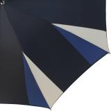 Doppler Manufaktur Damen Stockschirm Elegance VIP Automatik - corner beige blue