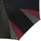 Doppler Manufaktur Damen Stockschirm Elegance VIP Automatik - corner silver berry
