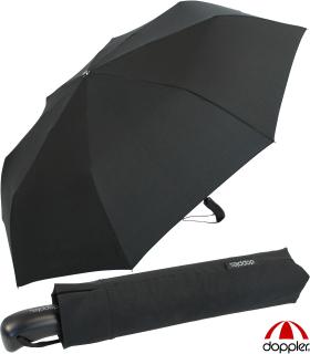 Doppler Partner Regenschirm - Taschenschirm Auf-Zu Automatik XM schwarz