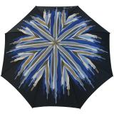 Doppler Damen Stockschirm Carbonsteel mit  Automatik Coloro blau