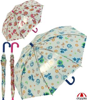 Kinder-Stockschirm Regenschirm transparent - Sky