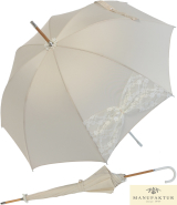 Hochzeits-Regenschirm Wedding Wien - Mesh mit...