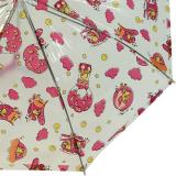 Kinder-Stockschirm Regenschirm transparent - Sky rosa