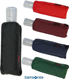 Samsonite Taschenschirm Auf-Zu Automatik Mini Alu Drop 4