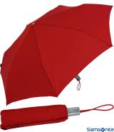 Samsonite Taschenschirm Auf-Zu Automatik Alu Drop 3 rot