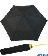 Samsonite Taschenschirm Rainflex klein leicht schwarz-gelb
