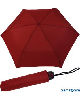 Samsonite Taschenschirm Rainflex klein leicht rot-blau