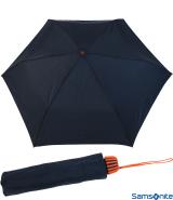 Samsonite Taschenschirm Rainflex klein leicht blau-orange