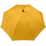 Golf Schirm XXL Partner- Regenschirm Fiberglas Birdie Stabgriff gelb