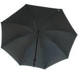 RS-Golfschirm Fiber-XXL extra groß und stabil mit Fiberglas-Streben- schwarz