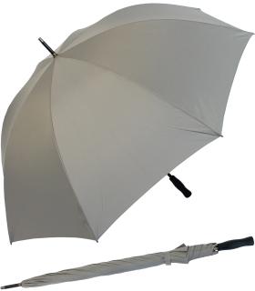 RS-Golfschirm Fiber-XXL extra groß und stabil mit Fiberglas-Streben- grau