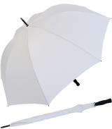 RS-Golfschirm Fiber-XXL extra groß und stabil mit Fiberglas-Streben- weiß