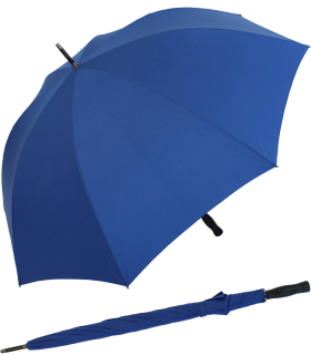 RS-Golfschirm Fiber-XXL extra groß und stabil mit Fiberglas-Streben- royal-blau