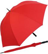 RS-Golfschirm Fiber-XXL extra groß und stabil mit Fiberglas-Streben- rot