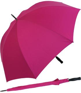 RS-Golfschirm Fiber-XXL extra groß und stabil mit Fiberglas-Streben- pink