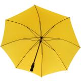 RS-Golfschirm Fiber-XXL extra groß und stabil mit Fiberglas-Streben- gelb