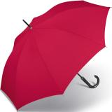 Stockschirm Kinematic groß stabil windfest mit Automatik - red