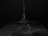Stockschirm Kinematic groß stabil windfest mit Automatik - taupe