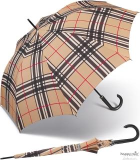 Regenschirm Stock-Schirm Kinematic groß stabil windfest mit Automatik letters